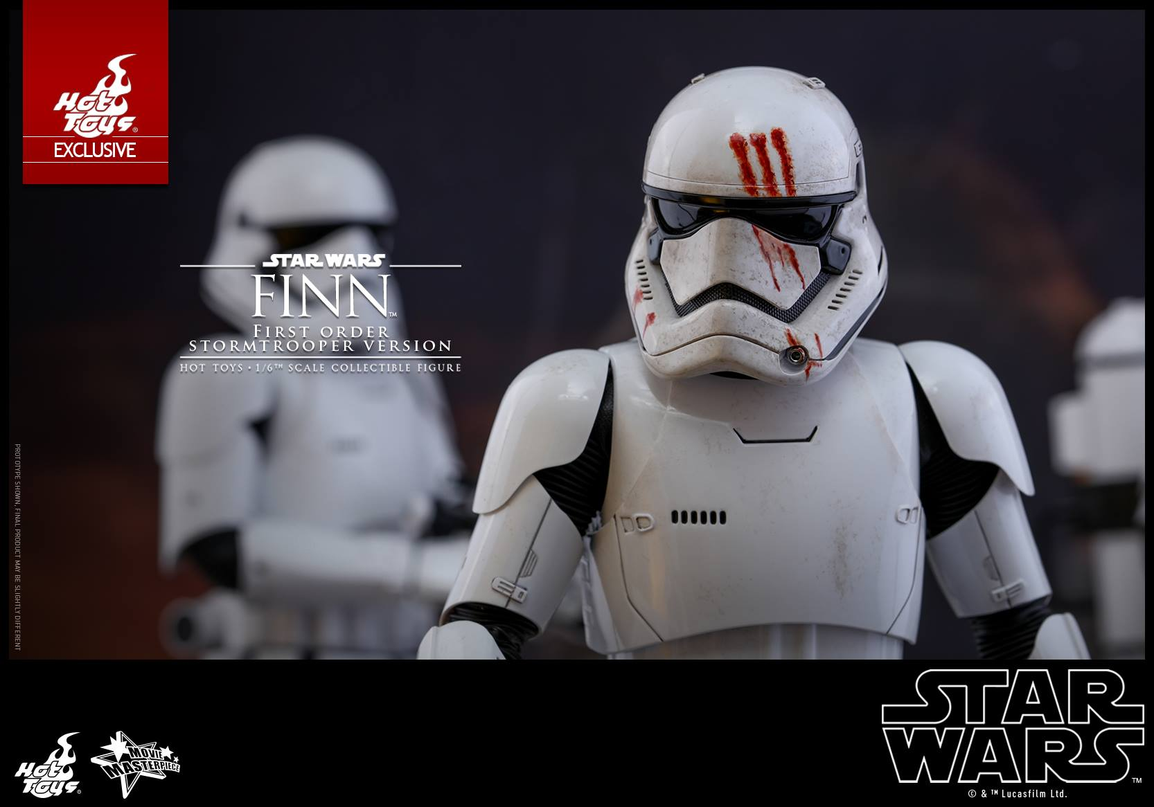 Star Wars: TFA – 1/6th Scale Finn (First Order Stormtrooper Version) Coming Soon