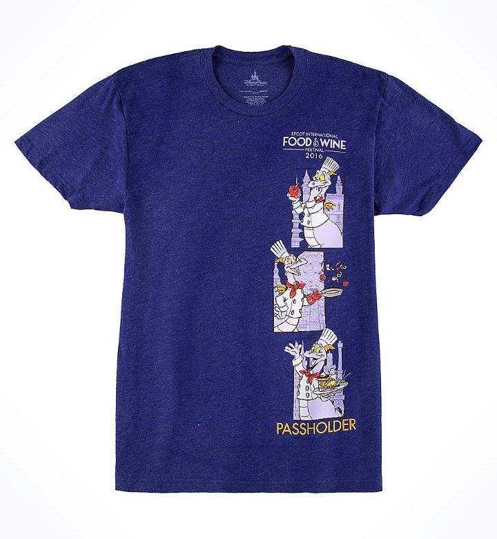 New WDW Food & Wine Passholder Tee Available on the Shop Disney Parks App!!!