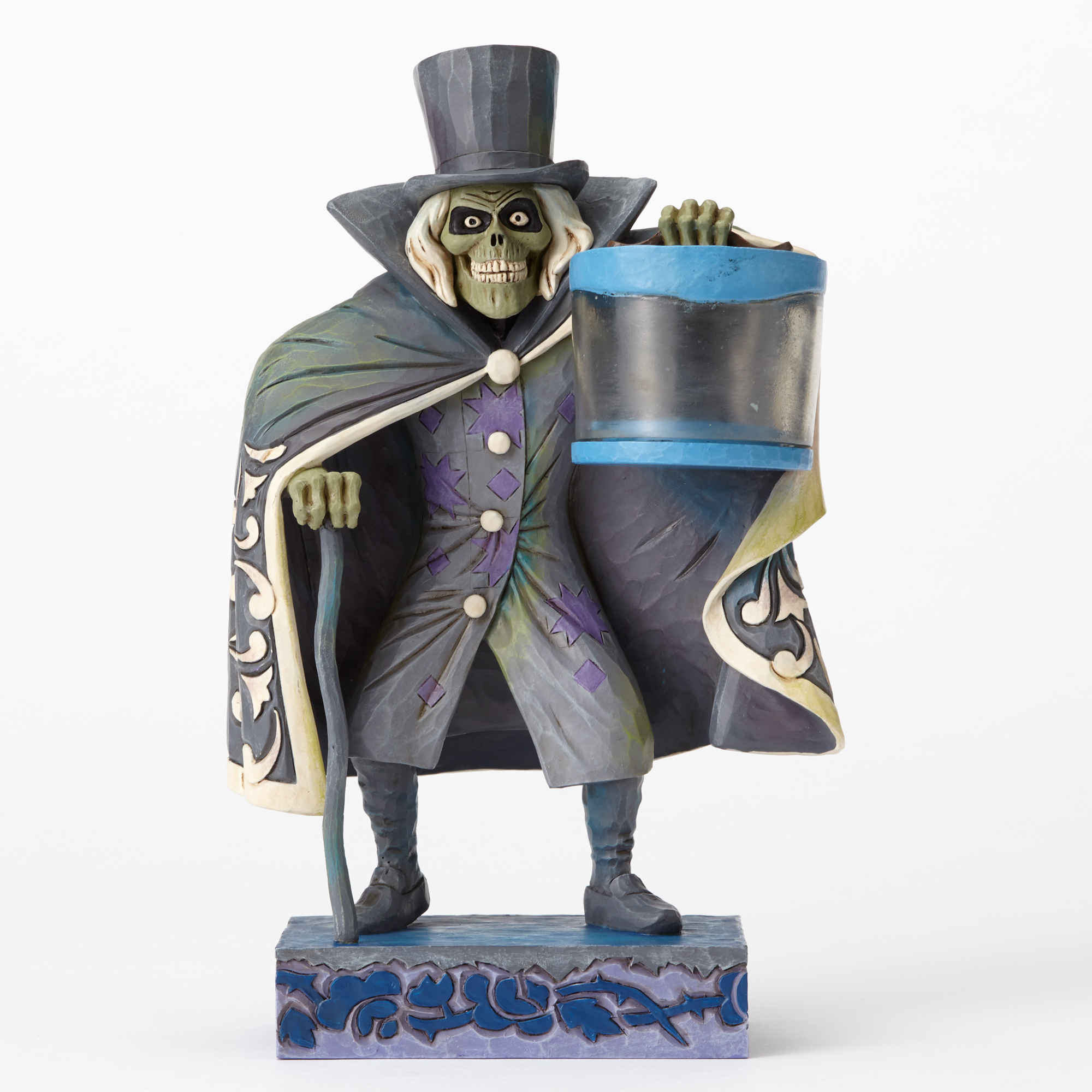 Haunted Mansion Hat Box Ghost Jim Shore Disney Traditions Figure Coming Soon