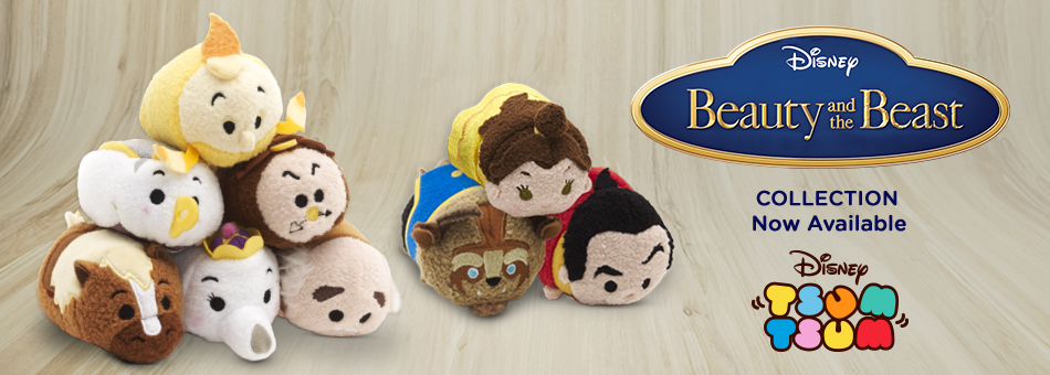 5bb8a26356c 5617 cp FWB BBTsum OutNow 02082016. Disney have released the Beauty   The Beast  Tsum Tsum collection ...