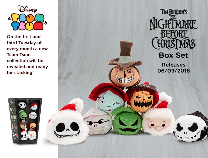Nightmare Before Christmas Tsum Tsum Box Set Coming Soon