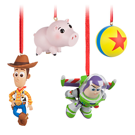 New Sketchbook Minis Ornament Sets Online at The Disney Store!!!