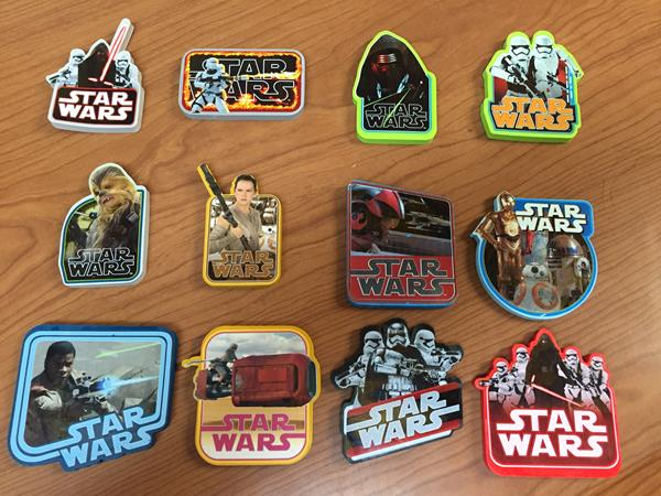 Review: Star Wars The Force Awakens Erasers (Innovative Designs)