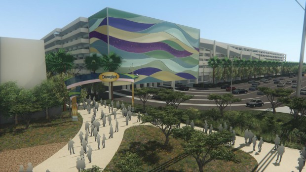 New Parking Lot & Transportation Hub Planned For Disneyland