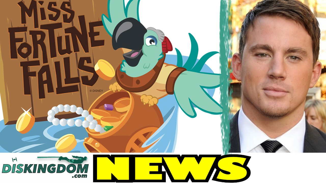 Channing Tatum Starring In Splash + New Typhoon Lagoon Attraction Coming  | DK Daily News
