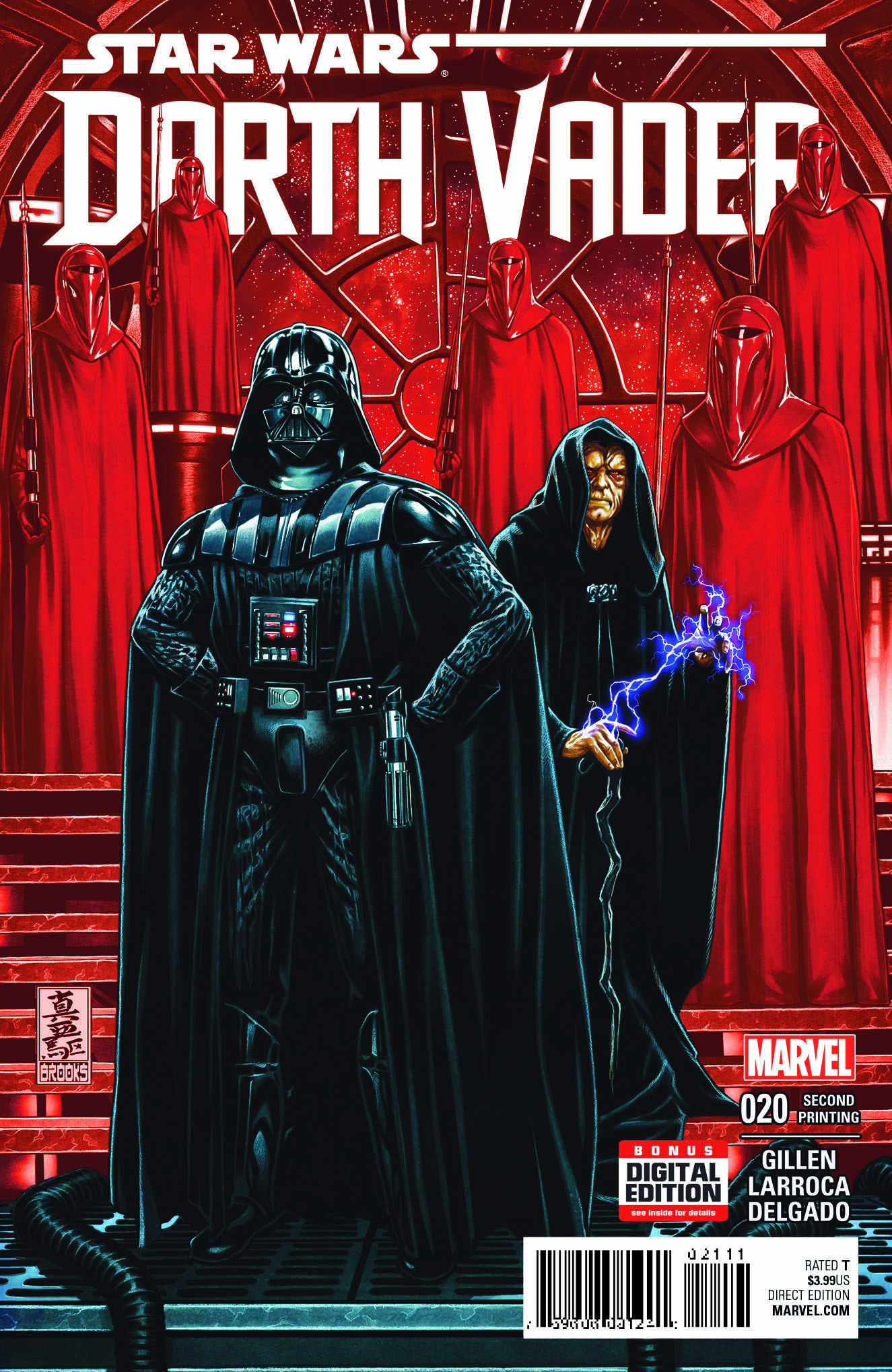 Prepare For the Epic Finale With New Printings of DARTH VADER #20 – #23!