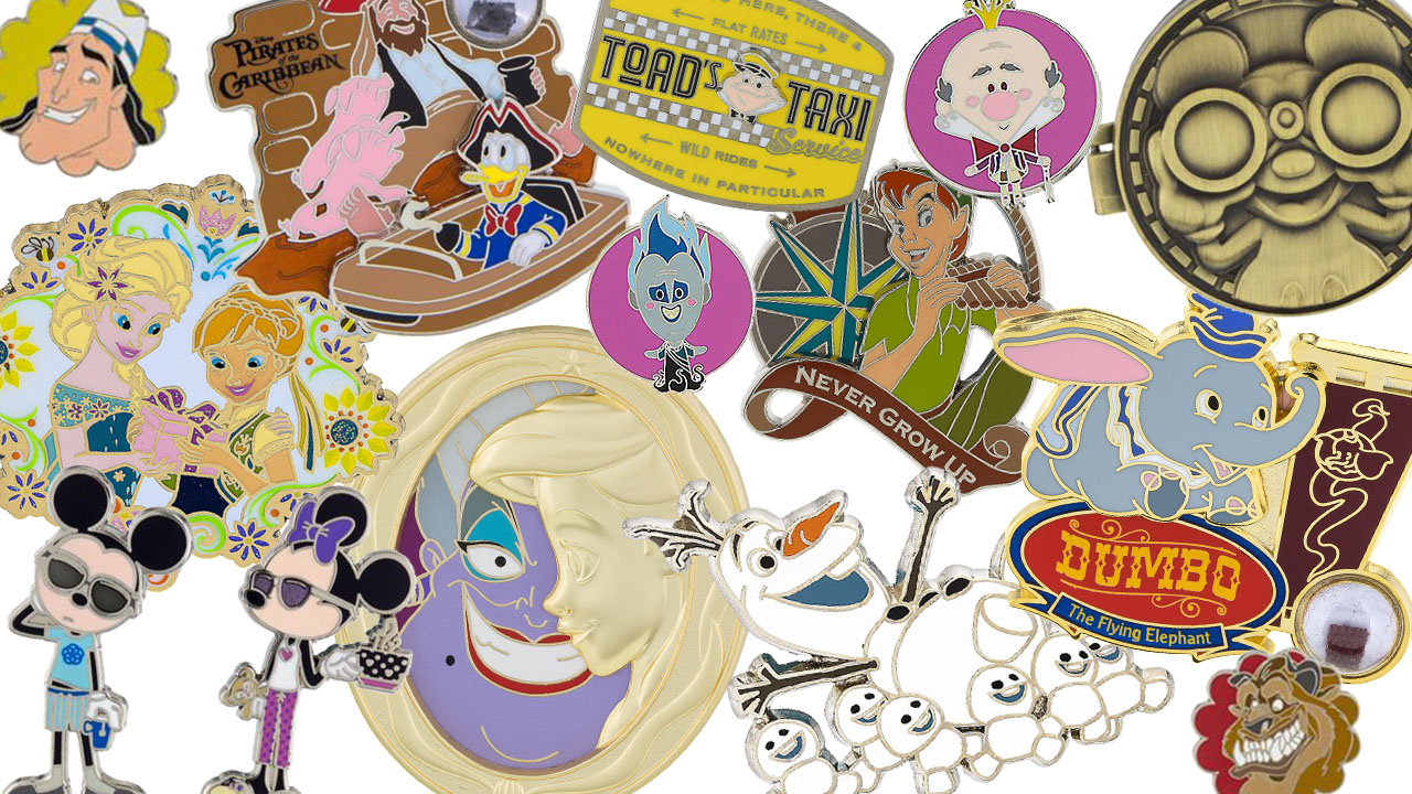Preview Of Some New Disney Pins Coming Soon
