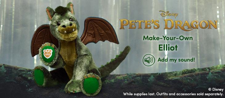 Petes Dragon Comes To Build A Bear