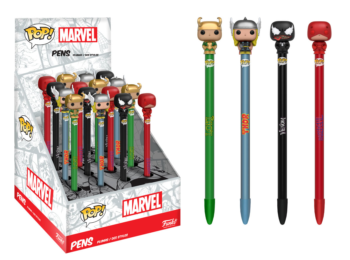 More Marvel Pop Pens Coming Soon Diskingdom Com