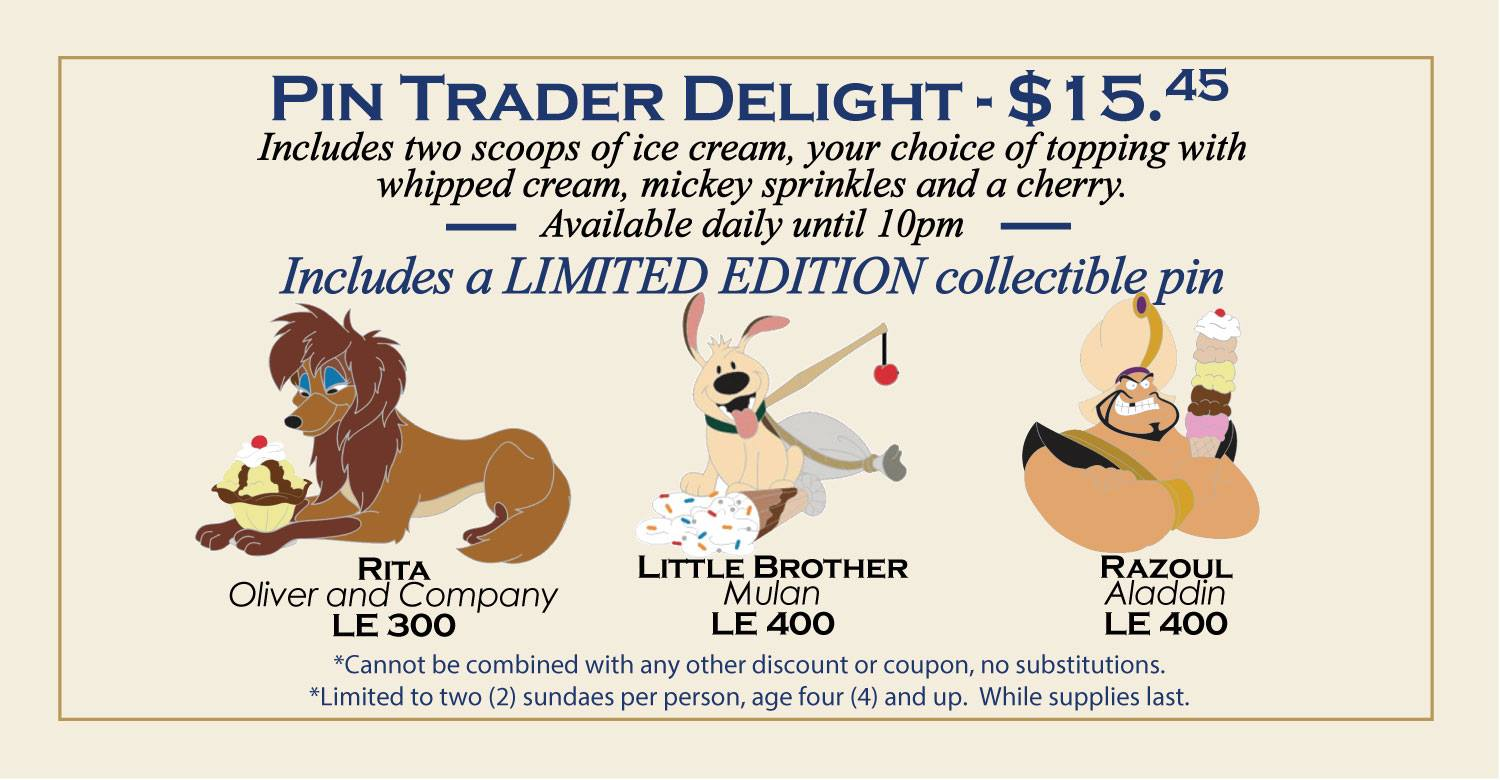 Latest Pin Trader Delight Pins Revealed