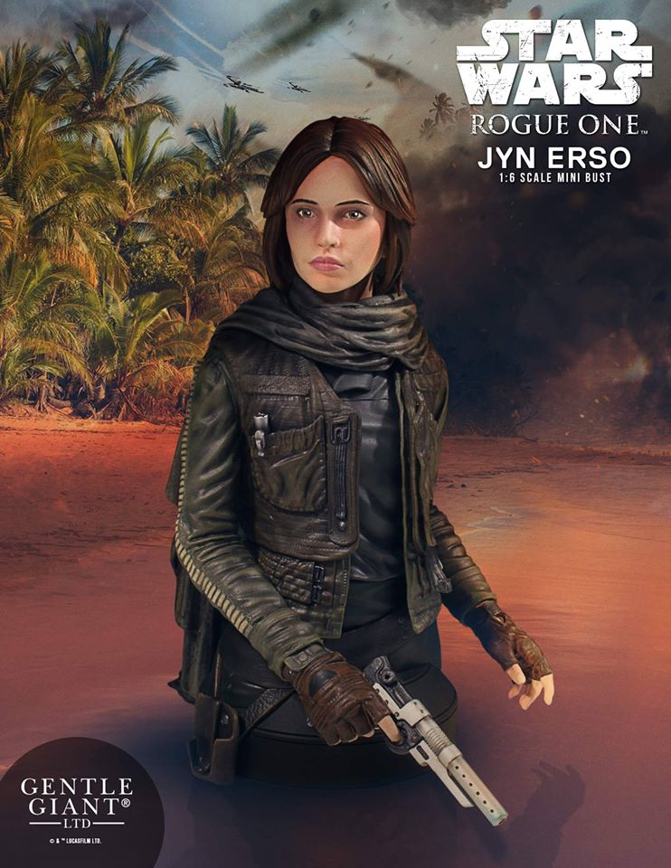 Rogue One Jyn Erso Mini Bust Coming Soon