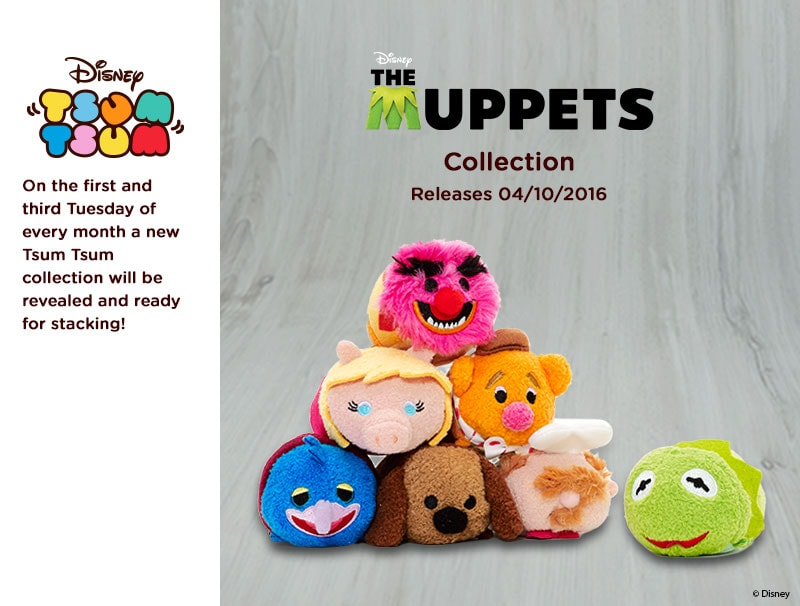 The Muppet's Tsum Tsum Collection Coming Soon