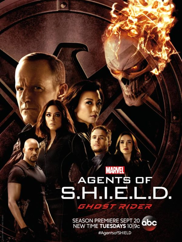 Agents Of S.H.I.E.L.D Ghost Rider Poster Revealed