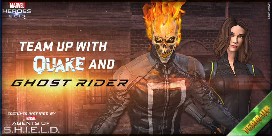 Ghost Rider & Quake Team Ups Come To Marvel Heroes 2016