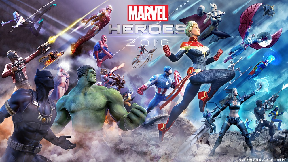 Gazillion and Ubitus Launch 'Marvel Heroes 2016' in South Korea