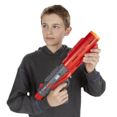 ROGUE ONE A STAR WARS STORY NERF GlowStrike IMPERIAL DEATH TROOPER DELUXE Blaster - lifestyle1