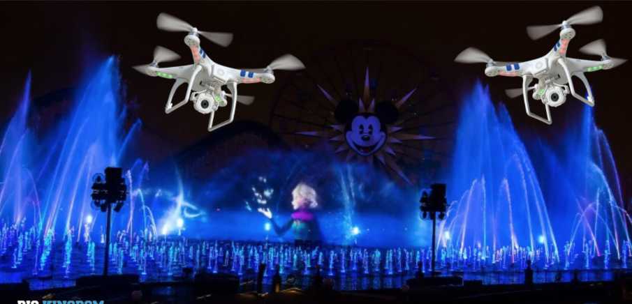 Disney Develops Patent For New Drone Use At The Parks!