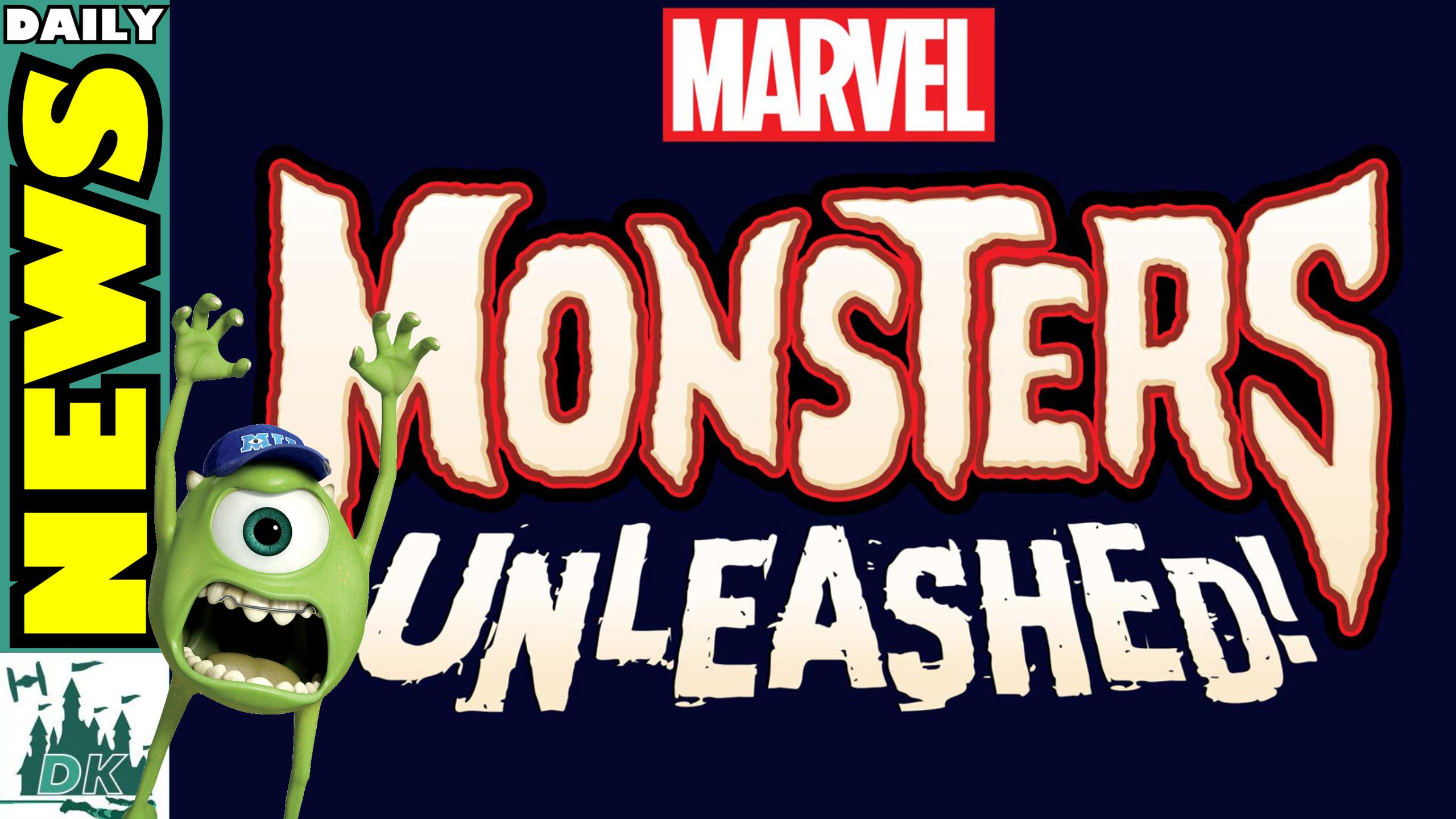 Monsters Unleashed Coming Soon  | DK Disney News