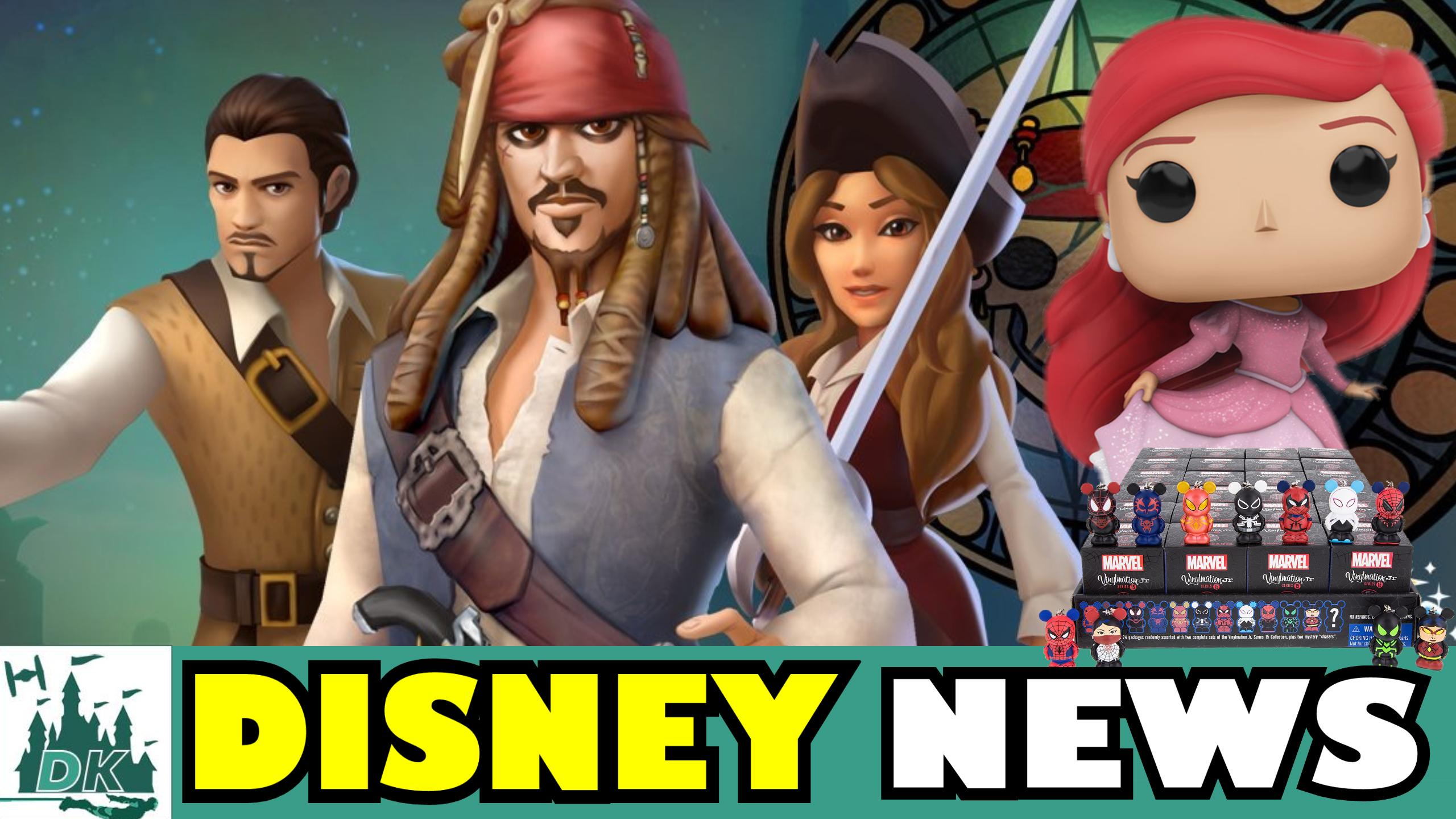 Spider-Man Vinylmation Juniors + POTC Comes To Disney Magic Kingdoms | DK Disney News