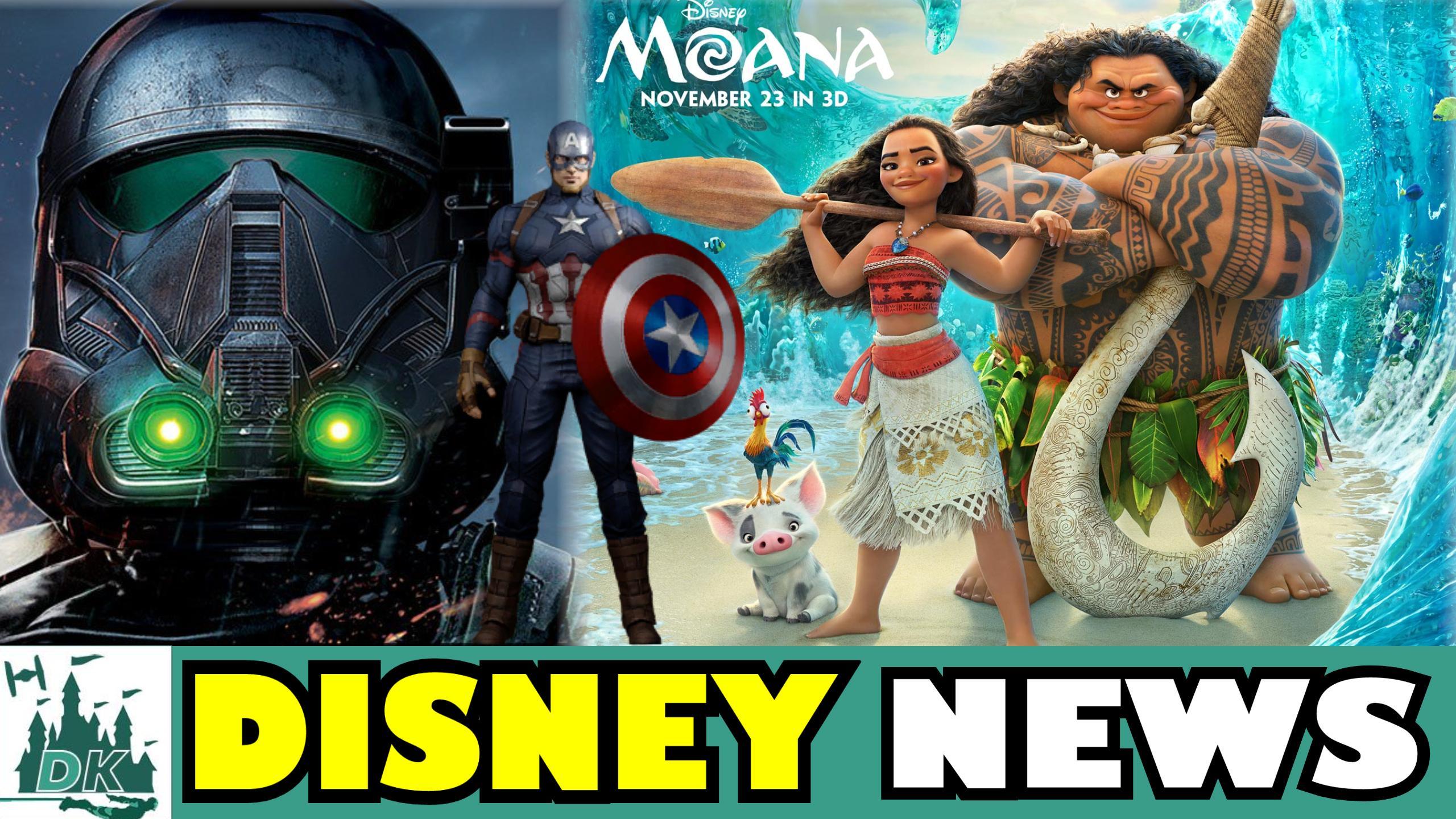 Moana Trailer Reaction + Rogue One Smuggler's Bounty Spoilers   DK Disney News