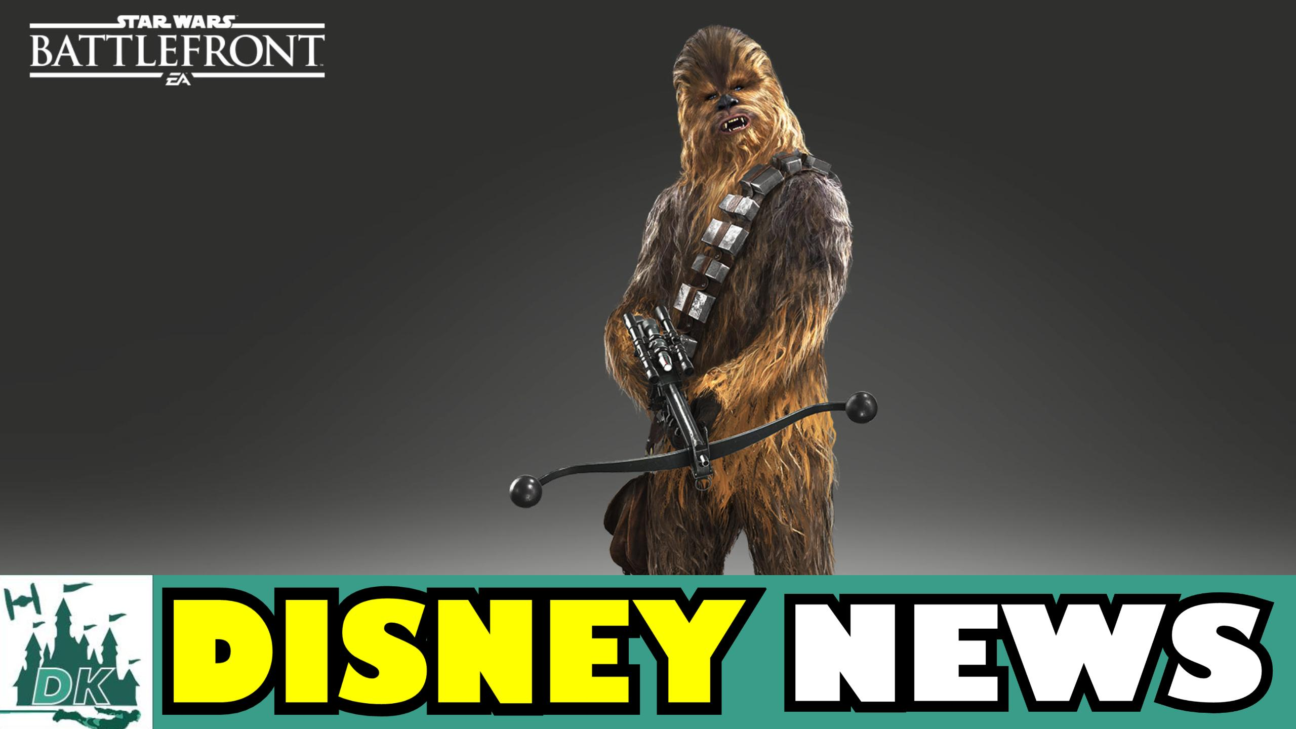 Chewbacca & Bossk In Star Wars Battlefront + More Job Cuts At Disney Interactive | DK Disney News