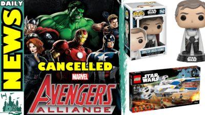 dk disney news avengers alliance cancelled rogue one