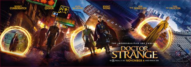 Doctor Strange Sneak Peek Coming To Walt Disney World & Disneyland
