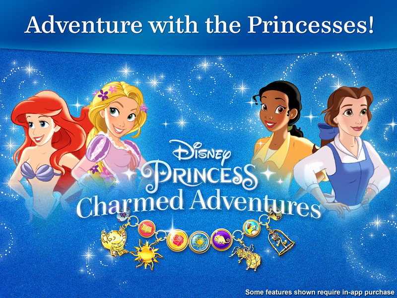 Mobile Gaming: Disney Princess Charmed Adventures Launched Today