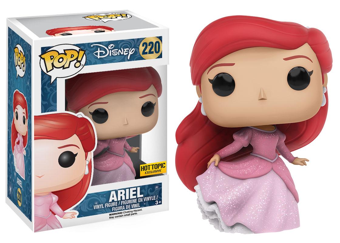 Glitter Variant Ariel Princess Pop Vinyl Coming To Hot ...