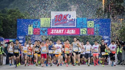 Over 9000 Runners Take Part In The Hong Kong Disneyland 10K Weekend
