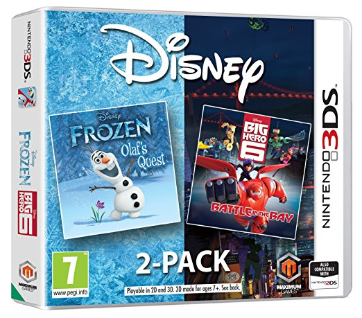 Disney 2 Pack Coming Soon To Nintendo 3DS