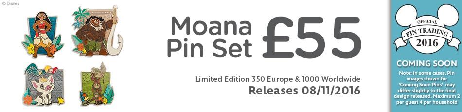 Moana Pin Set Coming Soon