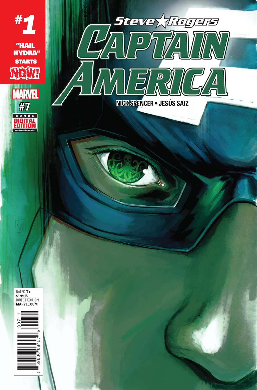 """""""Hail Hydra"""" Begins NOW! Your First Look at CAPTAIN AMERICA: STEVE ROGERS #7!"""