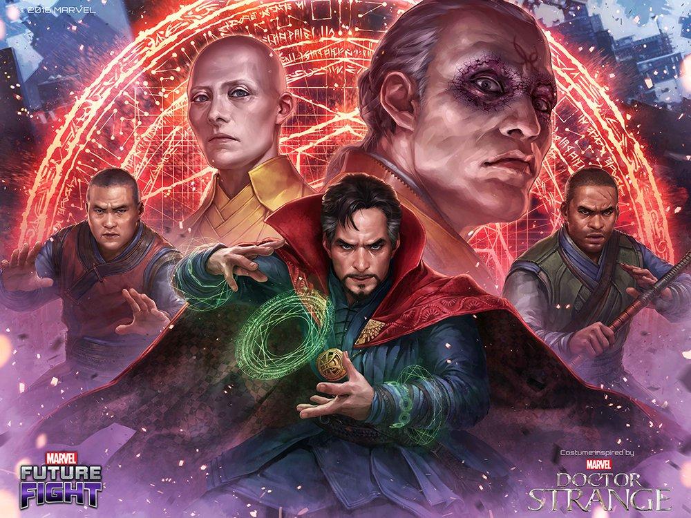 Doctor Strange Comes To Marvel Games!!