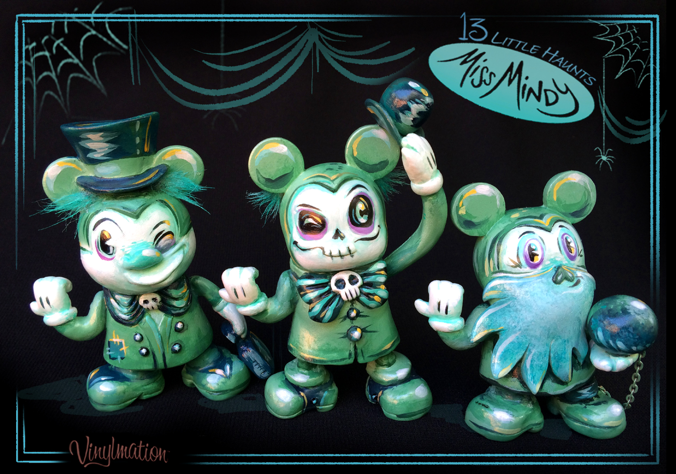 "Miss Mindy ""13 Little Haunts"" Custom Vinylmation Out On October 15th"