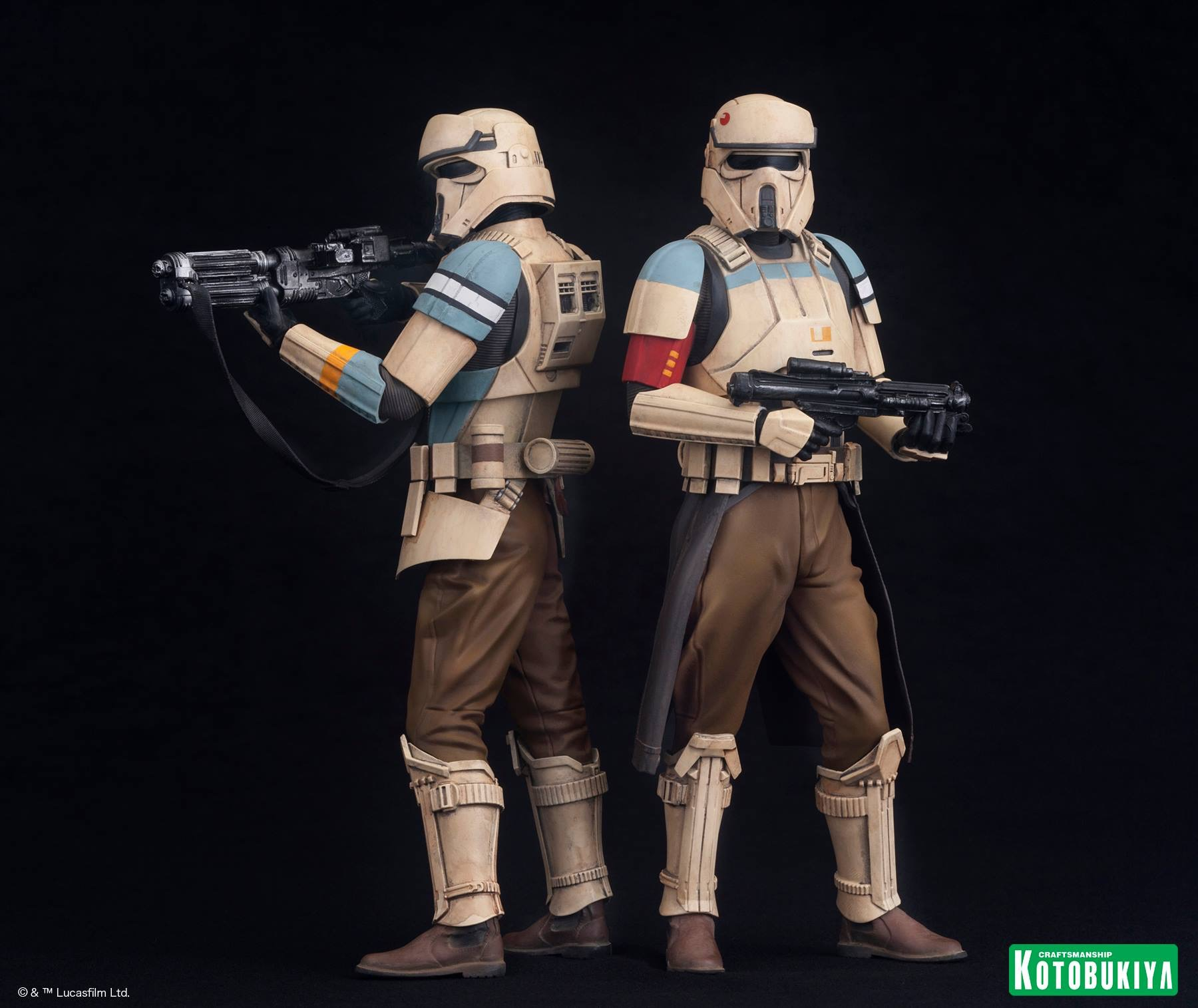 Rogue One Stormy Scarif Stormtrooper Two Pack Coming Soon