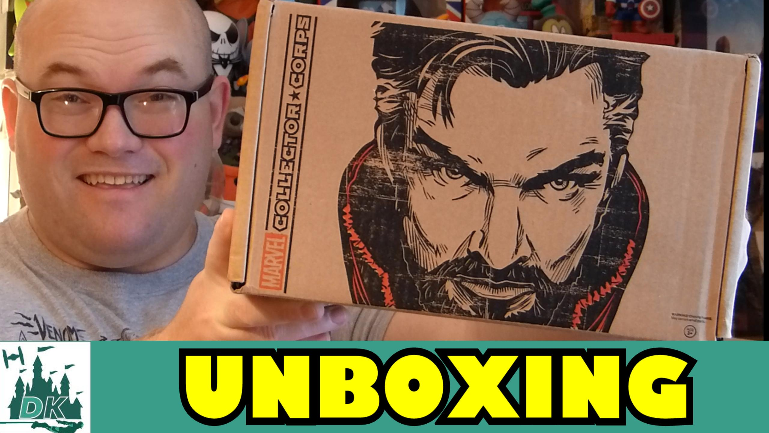 Doctor Strange Marvel Collector Corps Unboxing