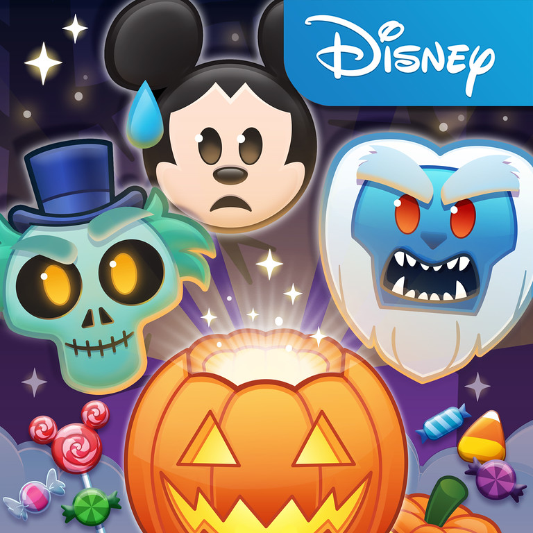A Hauntingly Spooky Update Is Taking Over Disney Emoji Blitz