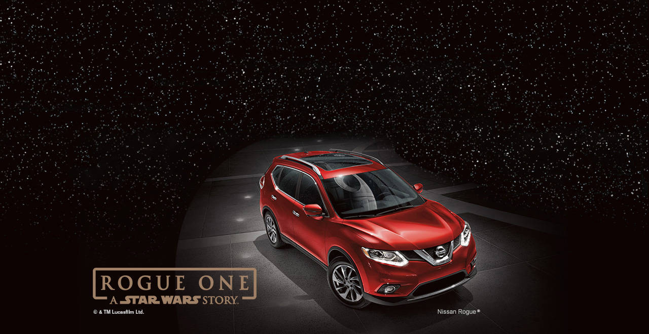 nissan announce rogue rogue one star wars limited edition compact suv disney. Black Bedroom Furniture Sets. Home Design Ideas