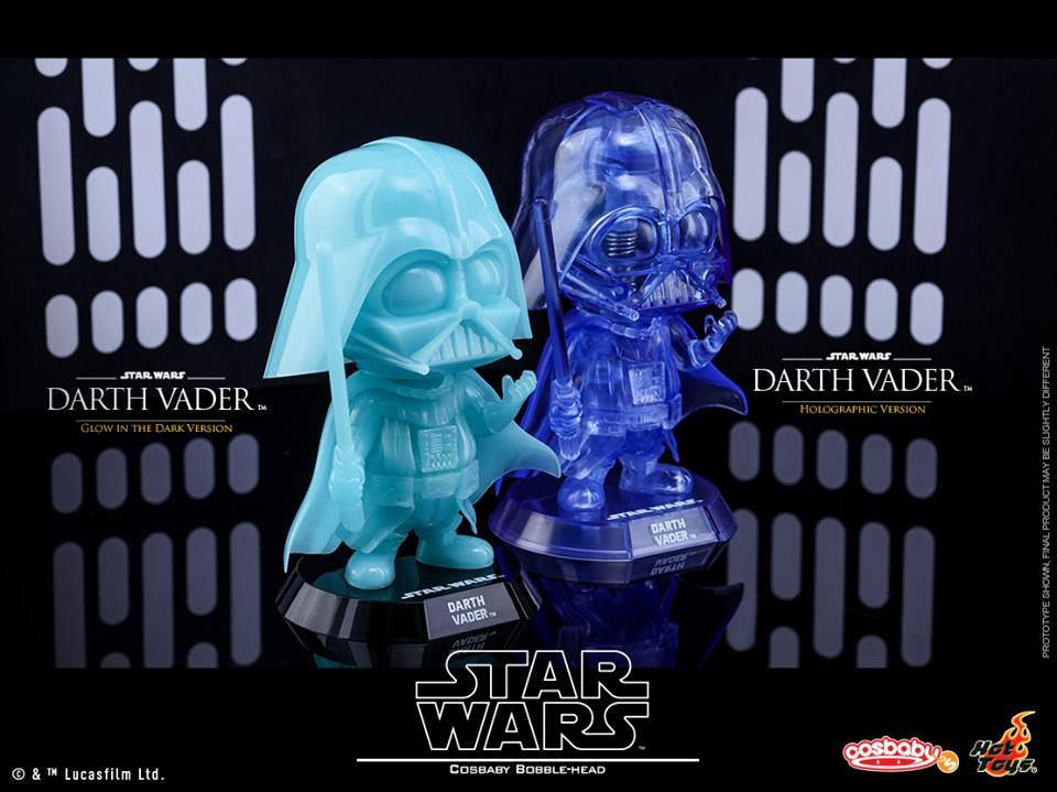 Star Wars Darth Vader Cosbaby Coming Soon