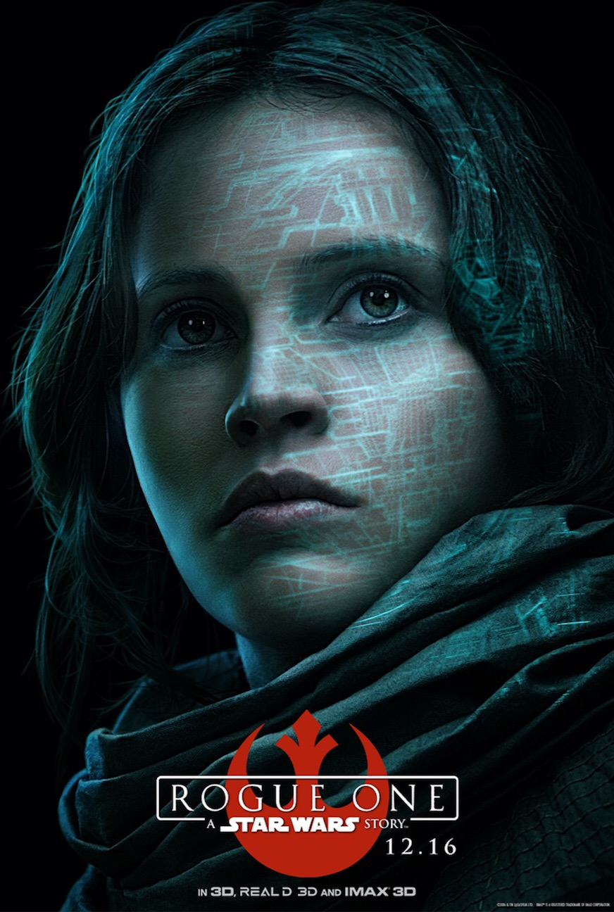 New Character Posters For Rogue One: A Star Wars Story Released
