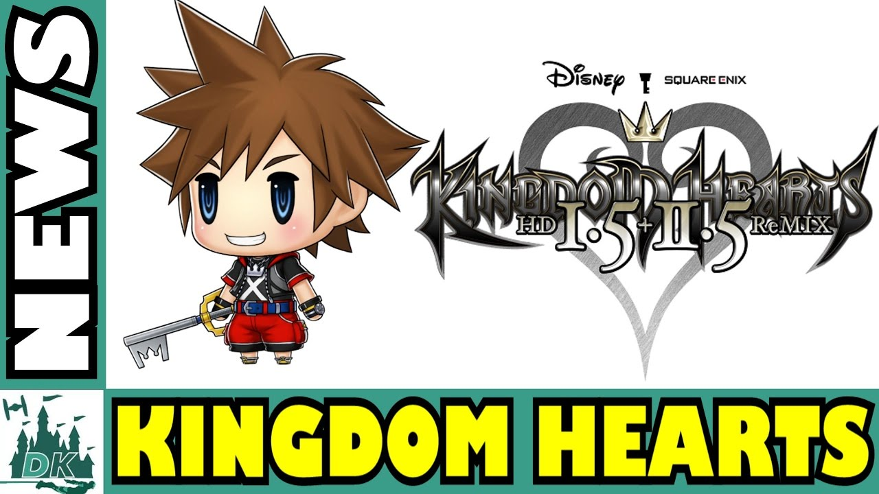 Kingdom Hearts HD 1.5 & 2.5 Coming To PS4