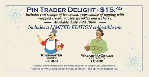 Two New Pin Trader Delight Pins Released