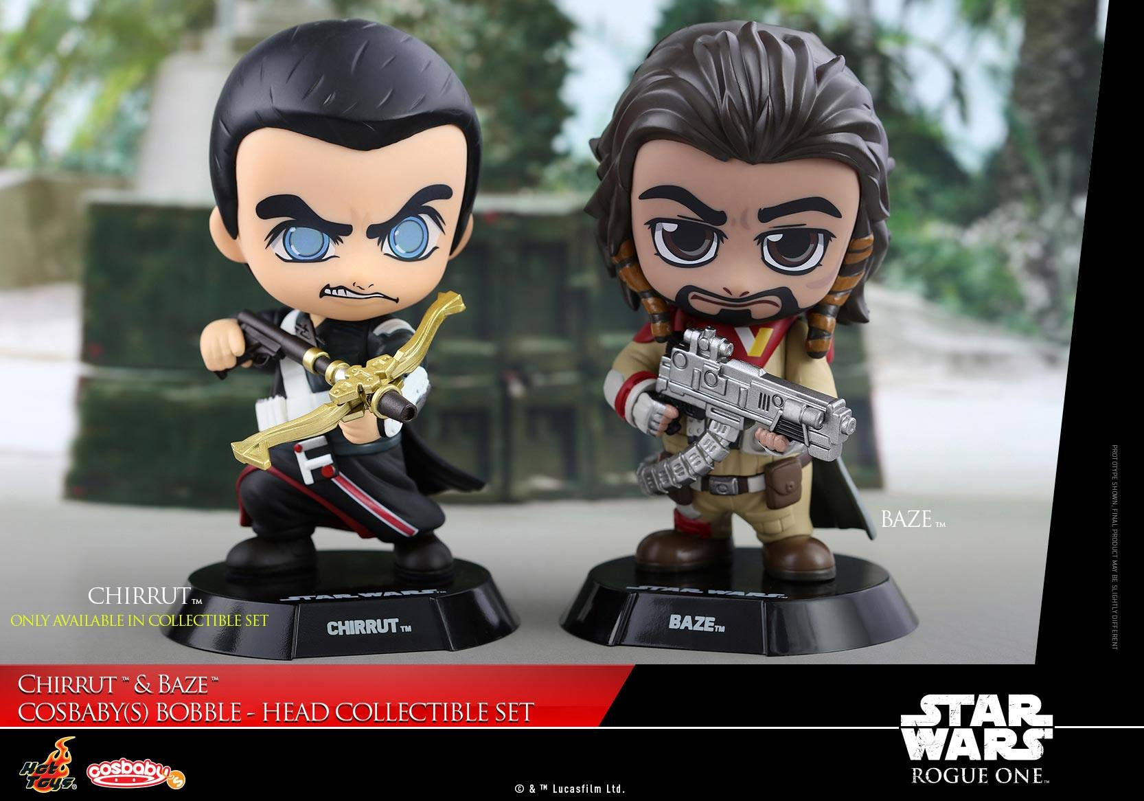 Rogue One – Chirrut & Baze Cosbaby Bobble-Heads Coming Soon