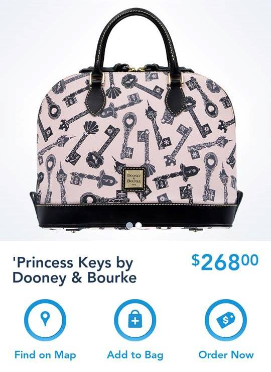 New Disney Dooney & Bourke Princess Keys Collection Released Today on the Shop Disney Parks App!!!