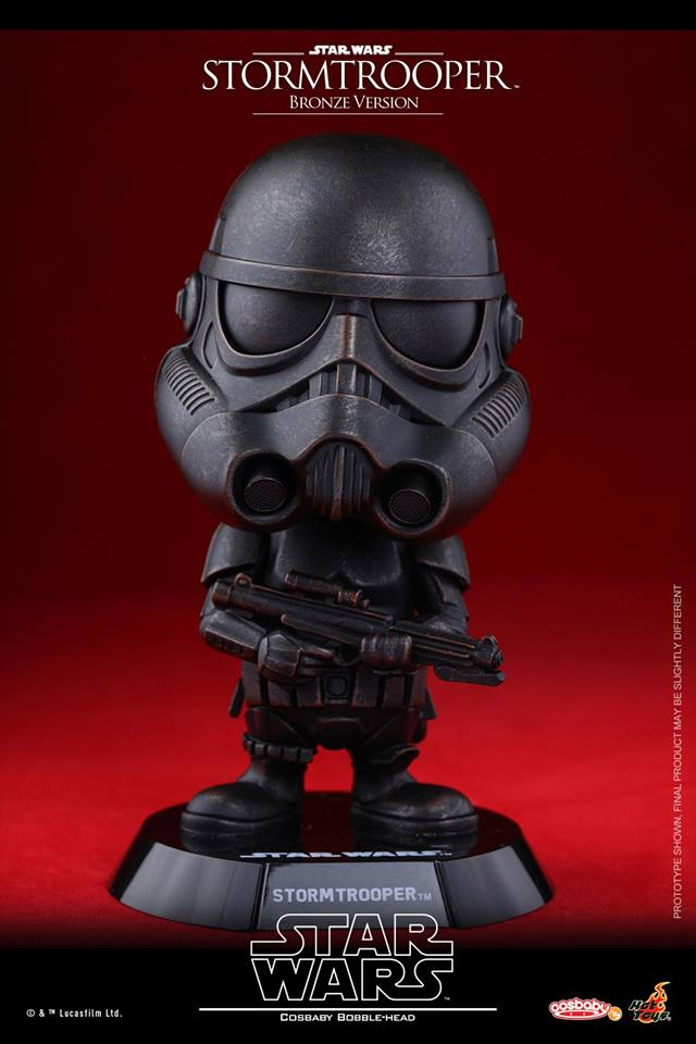 Star Wars: Darth Vader & Stormtrooper Cosbaby (Bronze ...