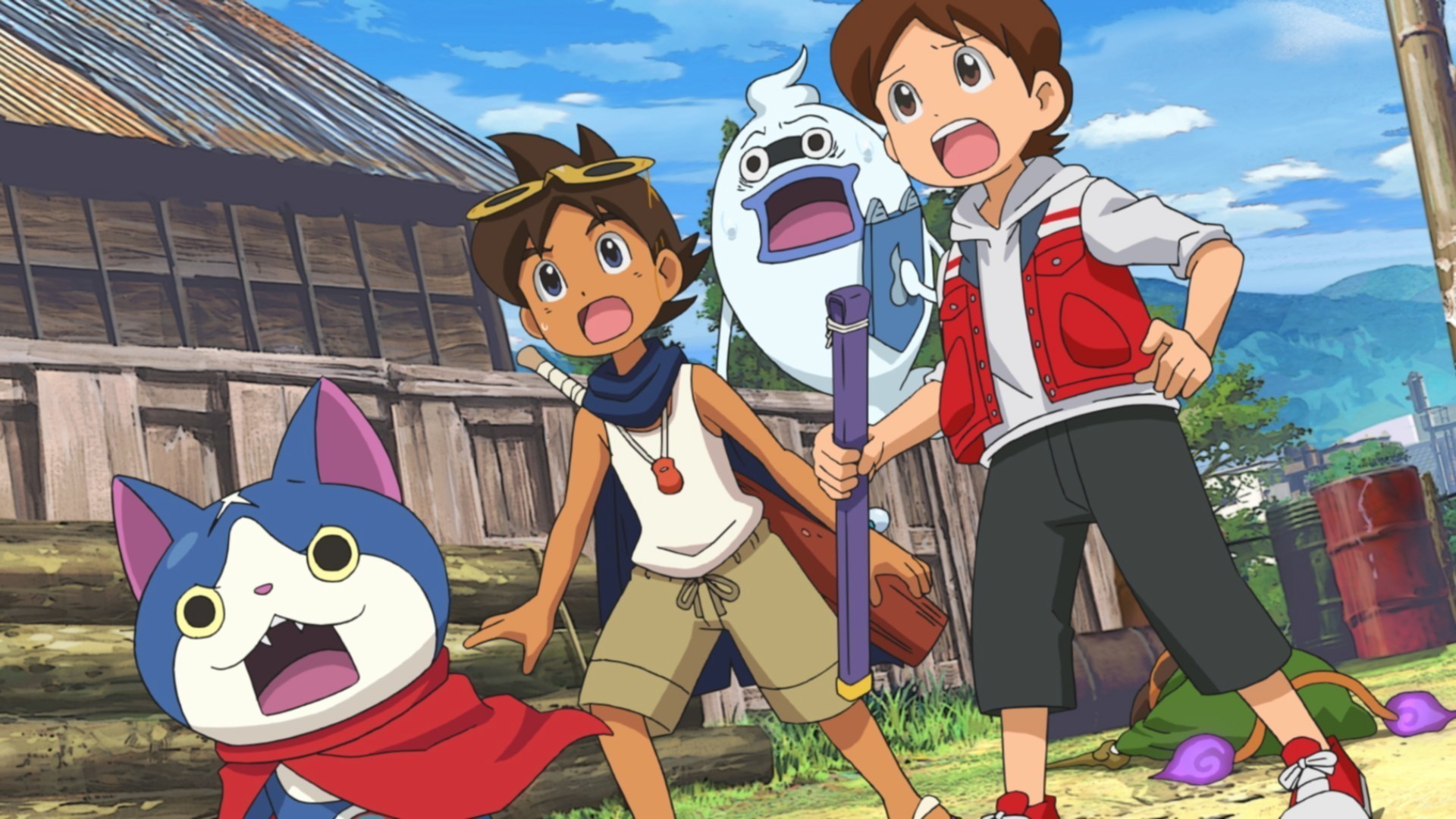 YO-KAI WATCH: THE MOVIE Makes Its TV On Disney XD