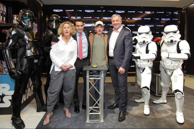 'Rogue One: A Star Wars Story' Lands In World Duty Free At Gatwick Airport