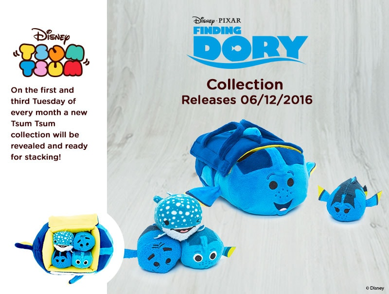 Finding Dory Tsum Tsum Bag Set Coming Soon