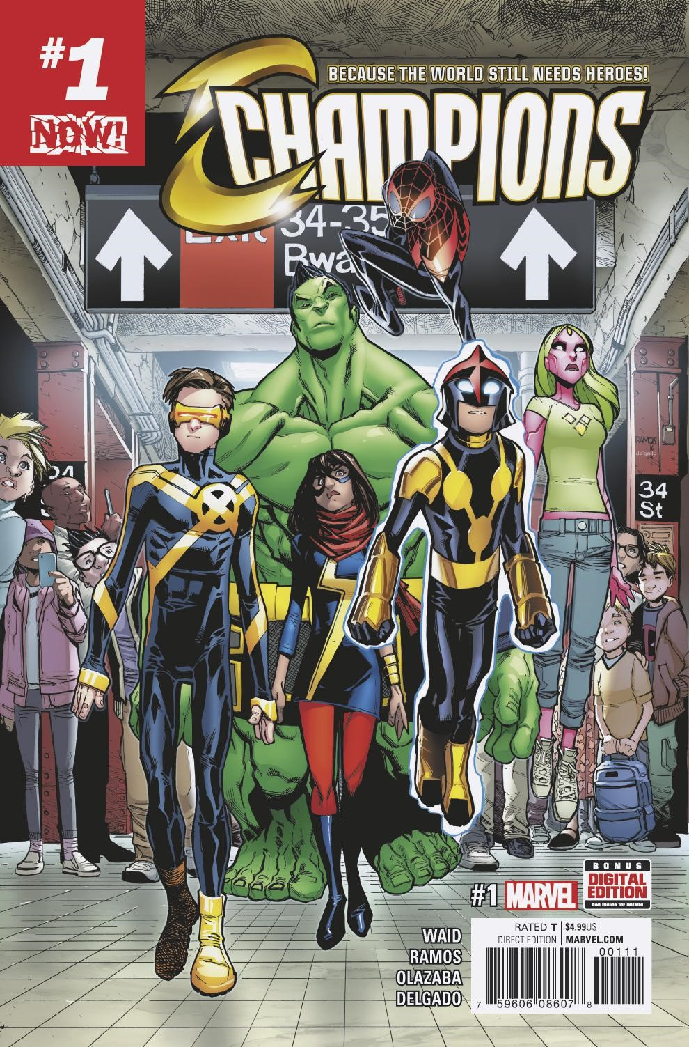 They're Here to Change the World – Watch a Special Trailer for CHAMPIONS #2!